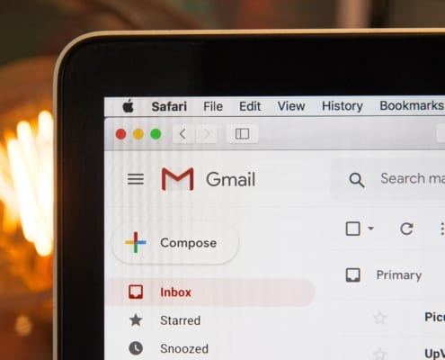 set up google email account